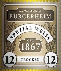 Der Weinhandel Bürgerheim von 1867 Logo